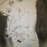 Crayon & fusain sur papier