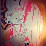 Live painting & exposition - FEMMEntrepreneur: The Freak & Fabulous Art Expo, Mtl. - 2014